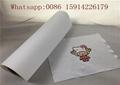 50cm*25m Inkjet Printable Heat Transfer Vinyl For Dark Fabrics White Color 2