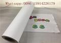 50cm*25m Inkjet Printable Heat Transfer Vinyl For Dark Fabrics White Color