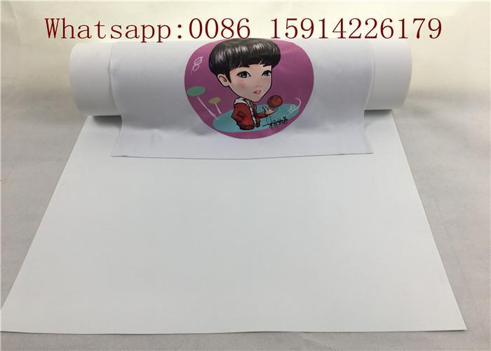 50cm*25m Inkjet Printable Heat Transfer Vinyl For Dark Fabrics White Color 4