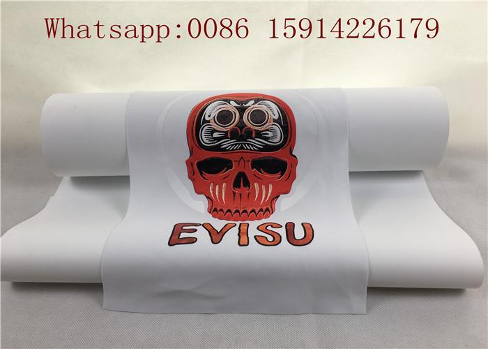 50cm*25m Inkjet Printable Heat Transfer Vinyl For Dark Fabrics White Color 5