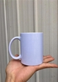 Wholesale Cheap 11oz White Custom Logo Sublimation Ceramic Mug Coffee Mug