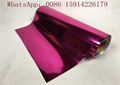 Pink Color Metallic Transfer Film Good