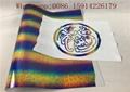 Hologram Material Heat Transfer Cutting PU Flex Film Vinyl For Textiles / Fabric