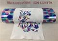 Washable Hologram Heat Transfer Vinyl Cold Peeling For Fashion T - Shirt 4