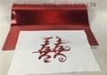 0.5*50M Laser Hologram Heat Transfer Vinyl , Pink Holographic Iron On Vinyl