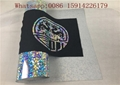 Soft Sticky Hologram HTV Polyester Print High Reliability Stretchable For Logo