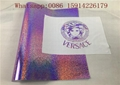 Violet Hologram Heat Transfer Vinyl , Holographic HTV For DIY Garment Print