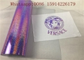 Violet Hologram Heat Transfer Vinyl ,