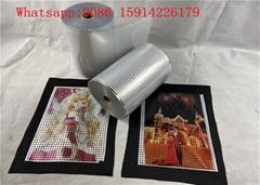 23.5cm*100m sublimation metallic heat transfer vinyl/metallized pet film roll