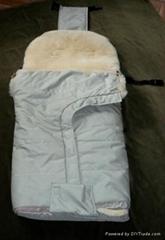 Bio fur baby bag