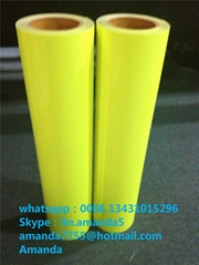Heat transfer PVC fluorescent vinyl for tshirts