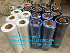 Flocking heat transfer vinyl film