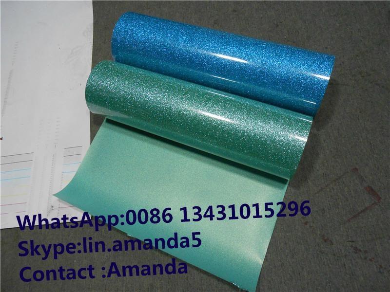 Glitter Heat Transfer Vinyl for Vinyl Cutter 2