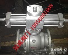 GW型鑄鋼液動球閥