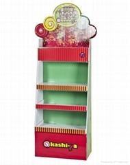 2015 most popular custom made toy cardboard display stand