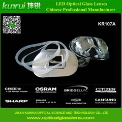 Street light Led optical glass lens(KR107A)