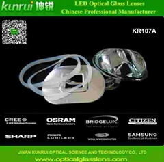 led optical glass lens for street light(KR107A)