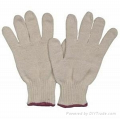 cheap knit gloves with cotton material