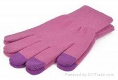 women's winter warm knit gloves