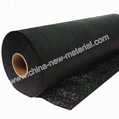 Agricultural Fiber Fabric Black Plastic Ground Cloth Cover