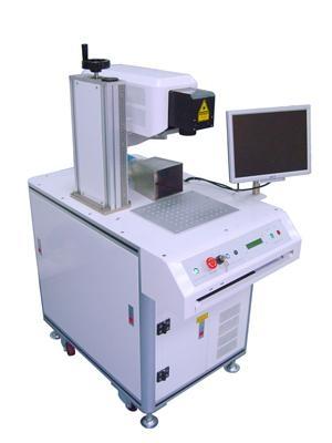 二手镭射沃半导体端泵激光打标机 2