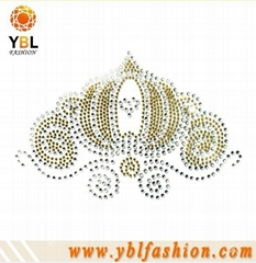rhinestone hot fix motif