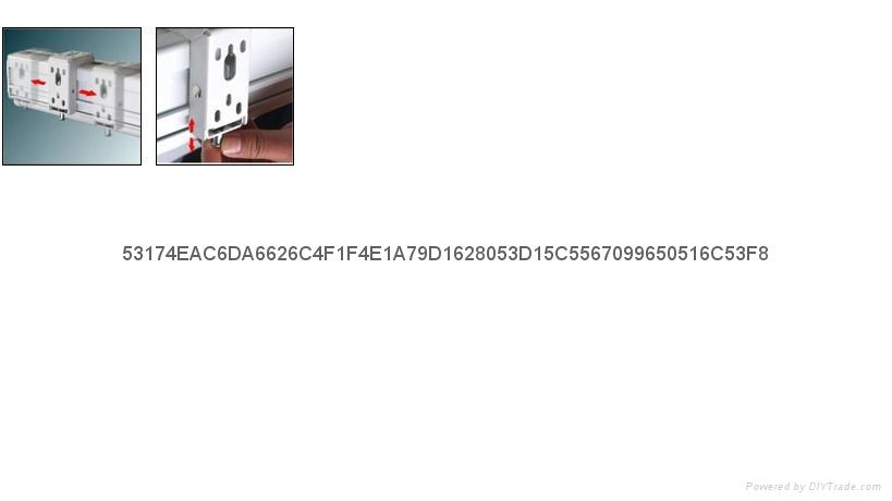 管狀電機高清玻纖幕料100英吋電動4;3投影銀幕 1