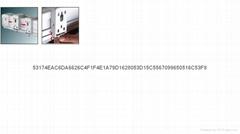管状电机高清玻纤幕料100英寸电动4;3投影银幕