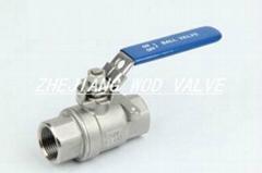 2PC high pressure ball valve