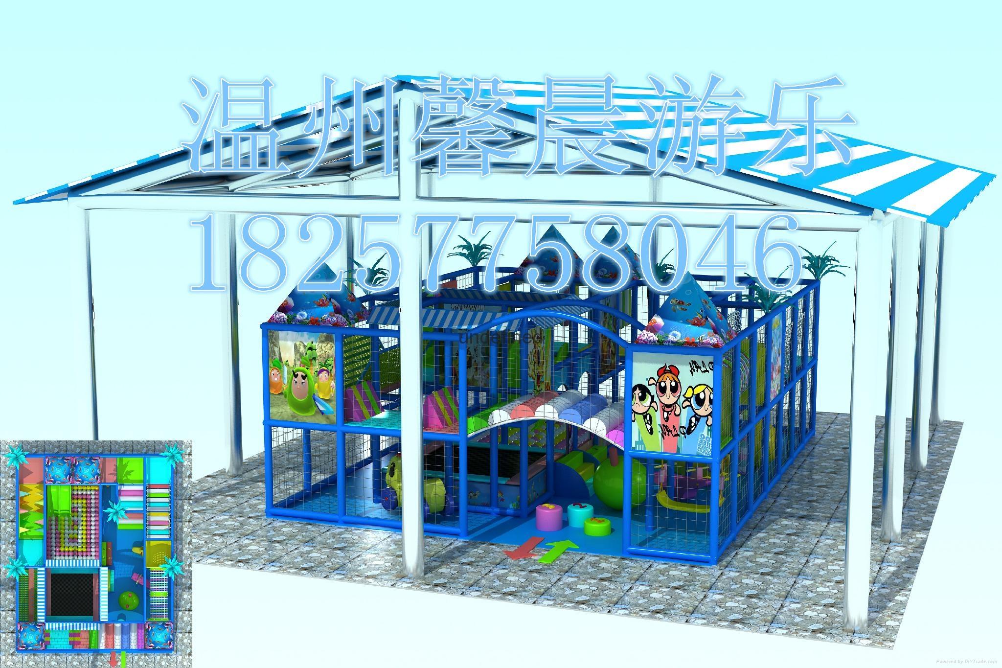 室内儿童乐园淘气堡加盟 1