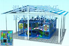 室内儿童乐园淘气堡加盟