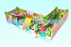 新型电动淘气堡亲子乐园
