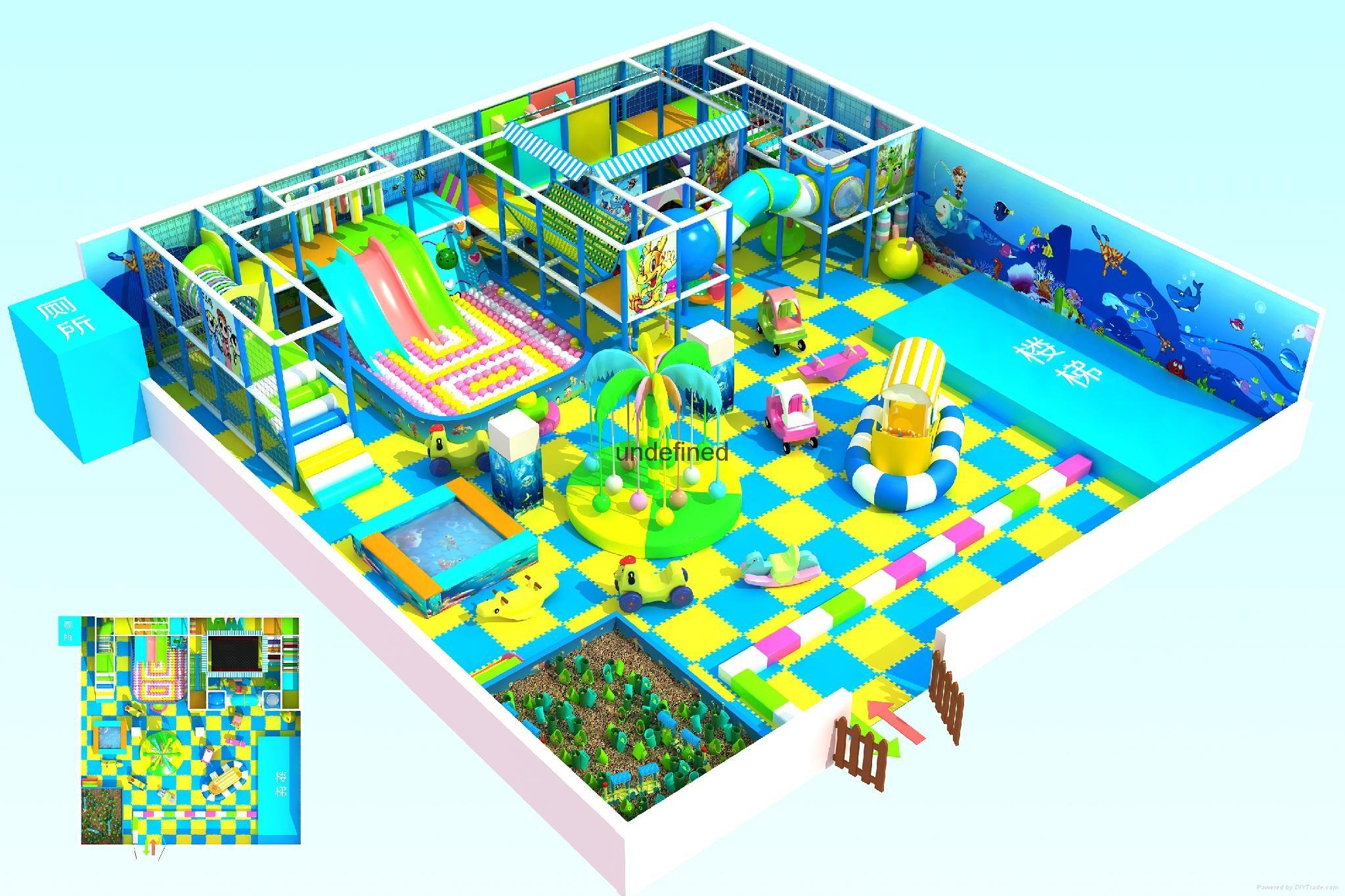 室内淘气堡游乐设备设施 5