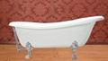 Single slipper Clawfoot Bath