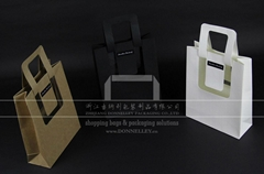Creative Kraft Paper Bag with PET Film