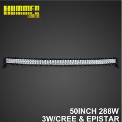 50inch288W off road led Super Brightness driving lamp bar
