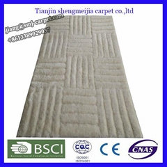 polyester hand-tufted area carpet rugs