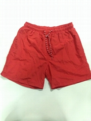 Custom design taslon fabric beach short