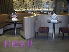 供應餐廳沙發kj-x003