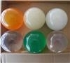5cm 80g juggling ball contact ball by clear color 100pcs/packing (50mm)
