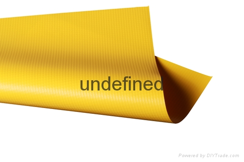 Super grade PVC coated fabric for ventilation ducting  1