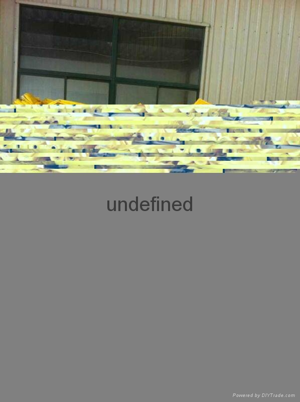 Super grade PVC coated fabric for ventilation ducting  2
