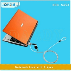 Notebook Security Password Lock with Key