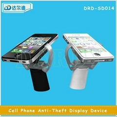 Desk Table Bar Mobile Phone Security Sensor Claws Display Stand with Gripper