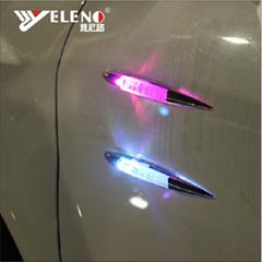 Dummy Shark Fin Antenna 2015 Car Decorative Warning Light Solar Car Aerial Anten