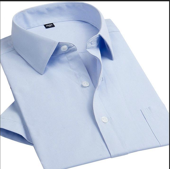men's dress shirt for short sleeve  4