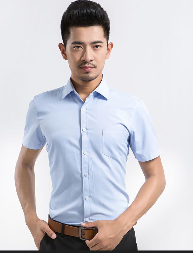 men's dress shirt for short sleeve  2