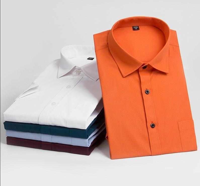 men's dress shirt for short sleeve  1