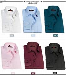 men's formal shirt for long sleeve