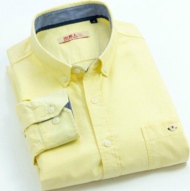 men's oxford shirt for long sleeve  4